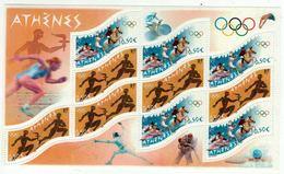 France // Blocs & Feuillet // 2004 // Jeux Olympiques Athènes, Bloc-feuillet Neuf ** MNH No.73 - Ongebruikt