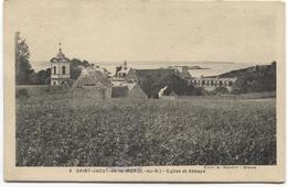 1929 Saint-Jacut-de-la-Mer   Eglise Et Abbaye - Ed A Benoit - Kerk Church Abbey  Abdij - Saint-Jacut-de-la-Mer