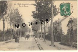 LA FERE CHAMPENOISE (51) RUE DE BANNES - Fère-Champenoise