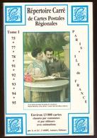 Catalogue Répertoire Carré De Cartes Postales Régionales Paris Et Ile De France En Très Bon état - Livres