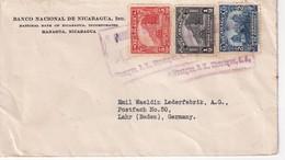 NICARAGUA LETTRE DE MANAGUA POUR LAHR - Nicaragua