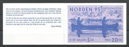 CARNET DE SUEDE  N° 1865  NEUF SANS CHARNIERE  (scan Verso) - Carnets