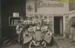 Latschenhütte - Trachtengruppe Folklore Fotokarte [AA48-2.187 - Non Classés