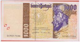 PORTUGAL - 1.000 Escudos Du 7 Novembro 2000 - Pick 188d  NEUF - Portugal