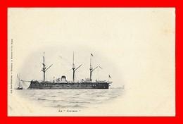 """CPA BATEAUX. Marine De Guerre.  Cuirassé Le  """" SUFFREN """"...S2178 - Warships"""