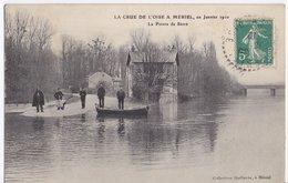 Mériel La Crue De L'Oise En Janvier 1910 La Pointe De Stors - Meriel