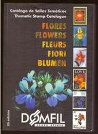 Catalogue Thématique 884 Pages Fleur Fleurs Flore Flores Flower Flowers Domfil 2003 Photos Couleurs Cotation € Et $ - Thématiques