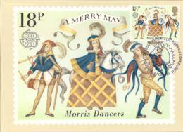 CPJ GB 1980 CM Folklore Danse Costumes Morris Dancers A Merry May - Dance