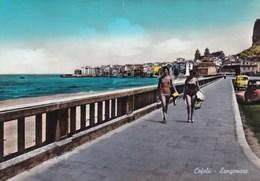 Cartolina Di Cefalù ( Palermo ) Lungomare - Palermo