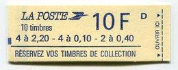 RC 12796 FRANCE CARNET N° 1501 LIBERTÉ 2f20 + 0f40 + 0f10 COMPOSITION VARIABLE MNH NEUF ** - Carnets