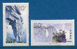 Chine - YT N° 3232 Et 3234 - Neuf Sans Charnière - 1994 - 1949 - ... Repubblica Popolare