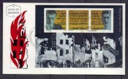 ISRAEL, 1983, Addressed FDC, Holocaust, SGMS903, F4975 - FDC