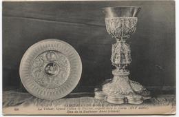 1923 Saint Jean Du Doigt   Le Trésor - Don De La Duchesse Anne - Saint-Jean-du-Doigt