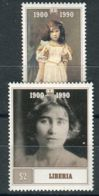 LIBERIA ( POSTE ) : Y&T  N°  1207/1208  TIMBRES  NEUFS  SANS  TRACE  DE  CHARNIERE , A  SAISIR . - Liberia