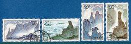 Chine - YT N° 3341 à 3344 - Oblitéré - 1995 - 1949 - ... Repubblica Popolare