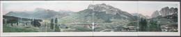 Cartolina 4 Quadrupla - ITALIA - CORTINA D'AMPEZZO, Grande Panorama - 1905 - STENGEL & Co. - Belluno