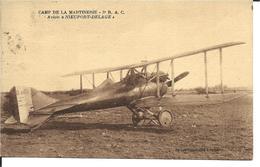 36 - Indre - Camp De La Martinerie - Avion Nieuport Delage - Altri Comuni