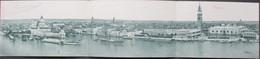 Cartolina 3 Triplo - ITALIA - VENEZIA, Grande Panorama - 1899 - STENGEL & Co. - Venezia (Venice)