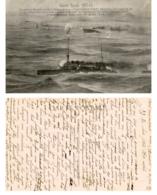 Guerre Navale 1914-1915 - Combat Naval Dans L'Adriatique - Bateaux