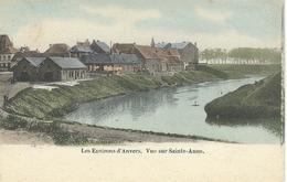 Les Environs D'ANVERS - Vue Sur SAINTE-ANNE - RARE VARIANTE COLORISEE - Antwerpen