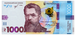 UKRAINE 1000 HRYVEN 2019 SMOLIY Pick New Unc - Ukraine