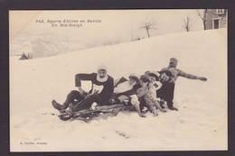 CPA Haute Savoie 74 Annecy Sport D'hiver Bob Bobsleigh Non Circulé - Annecy
