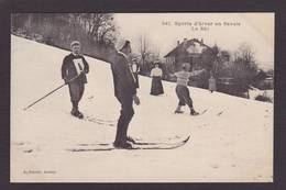 CPA Haute Savoie 74 Annecy Sport D'hiver Ski Non Circulé - Annecy