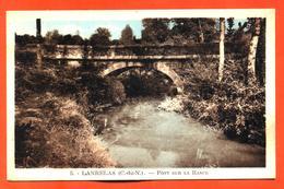 "CPA 22 Lanrelas "" Pont Sur La Rance "" éditions D Delboy - Francia"