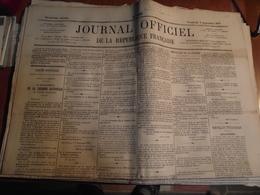 JOURNAL OFFICIEL De La République Française,  Vendredi 9  Septembre 1870, - Zeitungen