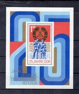 Germania - DDR - 1974 - Blocco Foglietto - 25 Anni Della DDR - Nuovo - (FDC20265) - [6] Oost-Duitsland