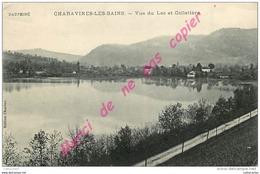 38. CHARAVINES LES BAINS .  Vue Du Lac Et Colletière . - Charavines