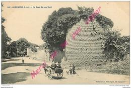 44. GUERANDE . La Tour Du Bas Mail . CPA Animée . - Guérande