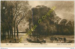 92. HUET . L'inondation De SAINT CLOUD .  Musée Du Louvre . - Saint Cloud