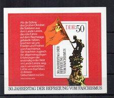 Germania - DDR - 1975 - Blocco Foglietto - 30° Anniversario Della Liberazione Dal Fascismo - Nuovo - (FDC20266) - [6] Oost-Duitsland