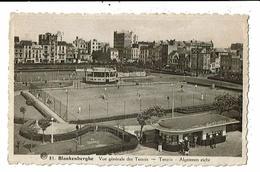 CPA-Carte Postale-Belgique Blankenberge Vue Générale Des Tennis -1939 -VM13465 - Blankenberge