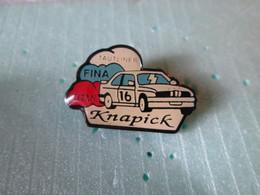 PIN'S    BMW  KNAPICK   FINA  RALLYE - BMW