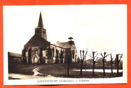 """CPA 08 Leffincourt """" L'église """" éditions D Delboy - France"""