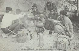 CPA - Marseille 13 - La Bouillabaisse Au Cabanon - Pêche