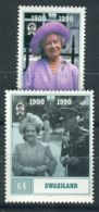 SWAZILAND ( POSTE ) : Y&T  N°  565/566  TIMBRES  NEUFS  SANS  TRACE  DE  CHARNIERE , A  SAISIR . - Swaziland (1968-...)