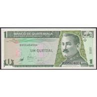 TWN - GUATEMALA 99 - 1 Quetzal 9.1.1998 B XXXXXXXX A - Printer: DE LA RUE UNC - Guatemala