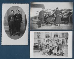 Militaires - 3 Cartes  Photo - Personaggi
