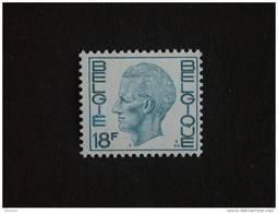België Belgique Belgium 1980 Boudewijn Baudouin Type Elström 1963 Yv 1949 MNH ** - 1970-1980 Elström