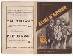 MON ROMAN POLICIER N°229 ALIBI D'AMOUR De R. LORTAC 1952 Ferenczi - Ferenczi