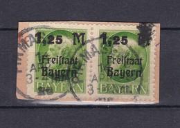 Bayern - 1919 - Michel Nr. 174 -  W.Paar - Briefst. - Gest. - Bavaria