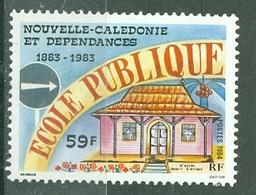 NOUVELLE-CALEDONIE - N° 490**  MNH LUXE   Centenaire De L'école Publique - Nouvelle-Calédonie