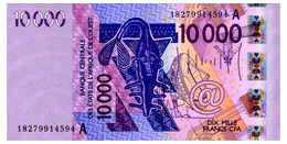 WEST AFRICAN STATES COTE D'IVOIRE 10000 FRANCS 2018 Pick 118A Unc - Stati Dell'Africa Occidentale