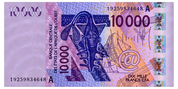 WEST AFRICAN STATES COTE D'IVOIRE 10000 FRANCS 2019 Pick 118A Unc - Stati Dell'Africa Occidentale