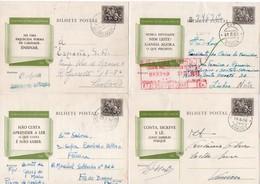 Portugal, Série 6 Inteiro Postal, Stationery, Campanha De Educação Popular, VERDE  (2 Scans) - Postwaardestukken