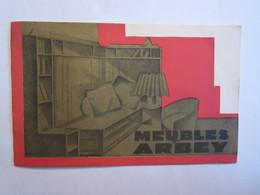 Publicité Dépliant Catalogue Meubles Arbey Faubourg Saint Antoine Paris 8 Pages - Publicités