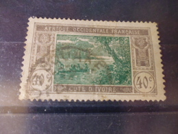 COTE D IVOIRE    YVERT N°51 - Used Stamps